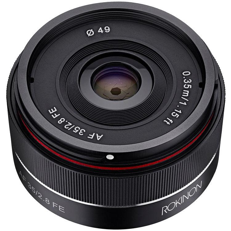 Rokinon AF 35mm f/2.8 FE Lens