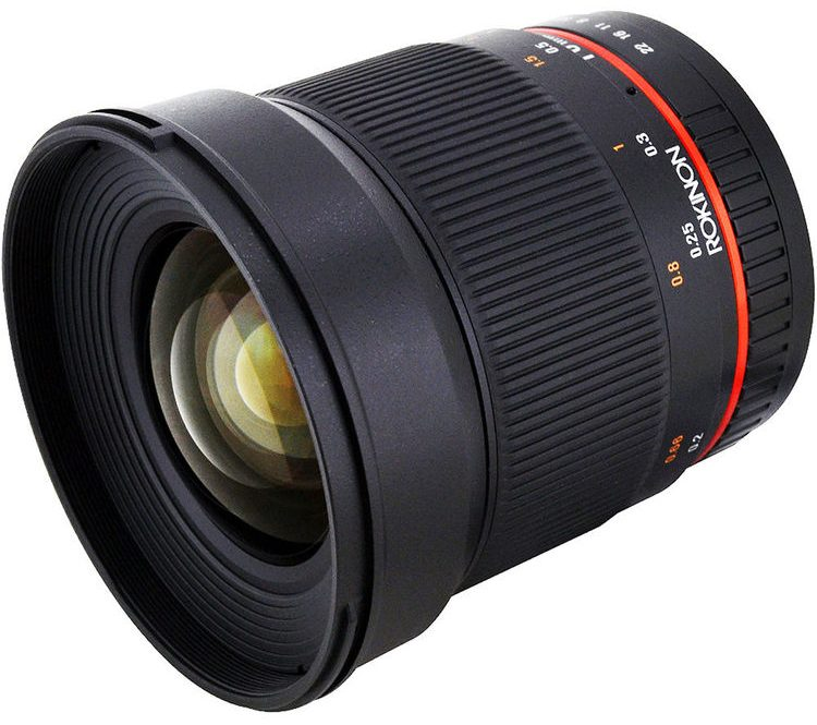 Rokinon 16mm f/2.0 ED AS UMC CS Lens