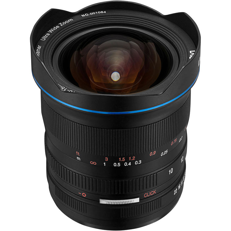 Venus Optics Laowa 10-18mm f/4.5-5.6 FE Zoom Lens