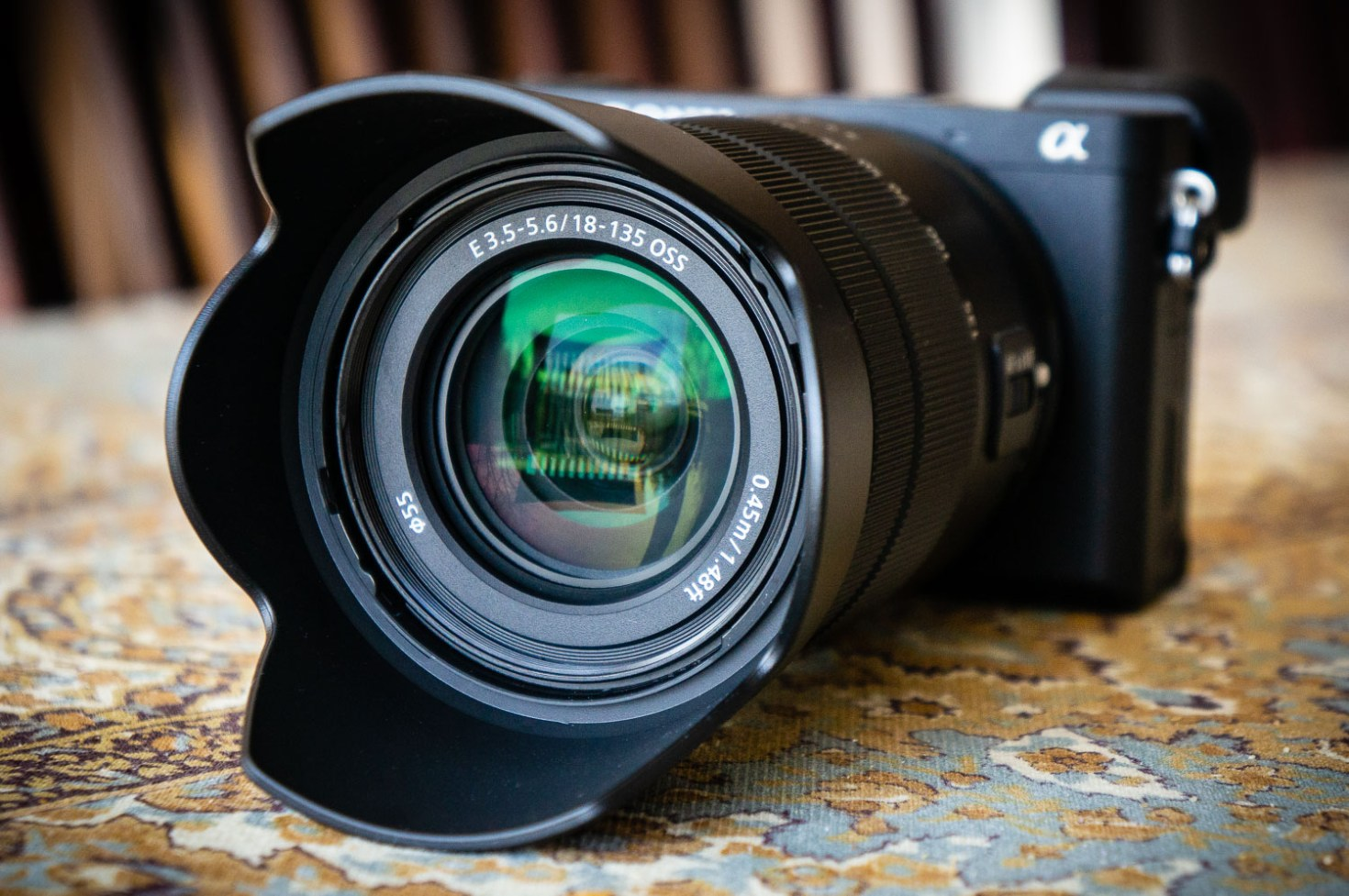 Sony A6400 w/ 18-135mm F/3.5-5.6 OSS Lens