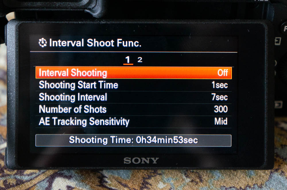 Interval Shooting - Timelapse