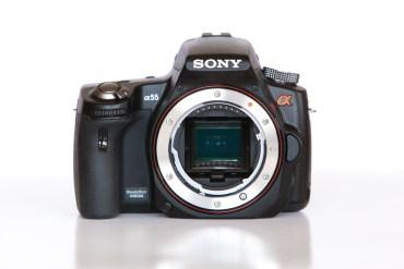 Sony A55 DSLR Camera Review