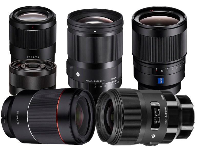Best Sony 35mm Lens