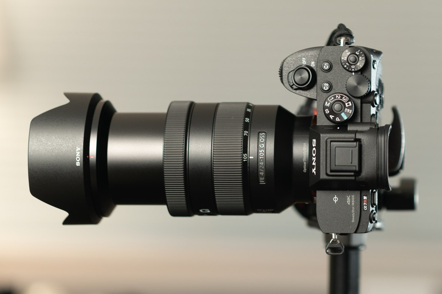 Sony FE 24-105mm F/4 G OSS Lens  @ 105mm - Lab Testing with Sony A7R IV