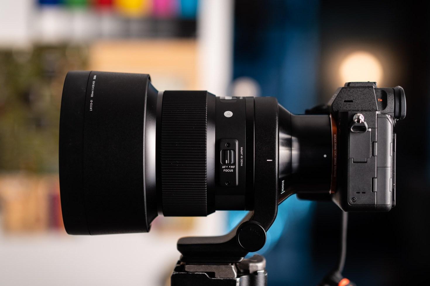Sony A7R IV w/ Sigma 105mm f/1.4 DG Lens