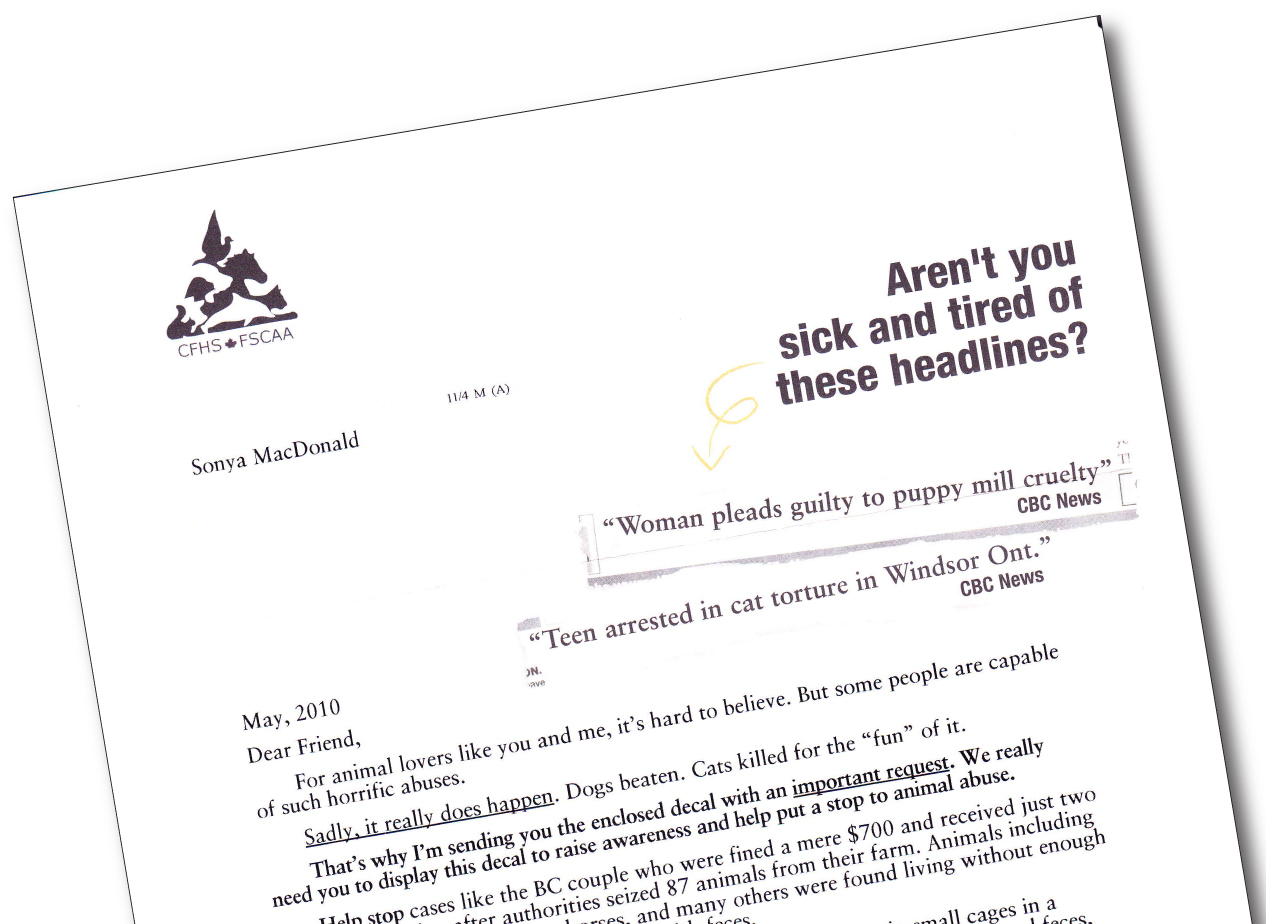 Effective direct mail appeals and other copywriting samples