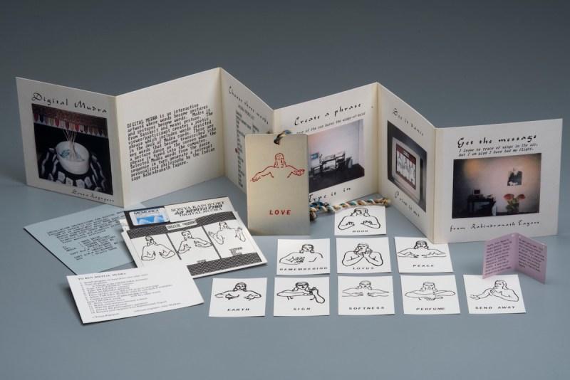 "Sonya Rapoport, ""Digital Mudra (Artist Book)."
