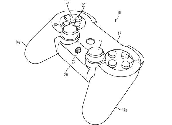 Sony Patent Application for DualShock 4 Reveals More
