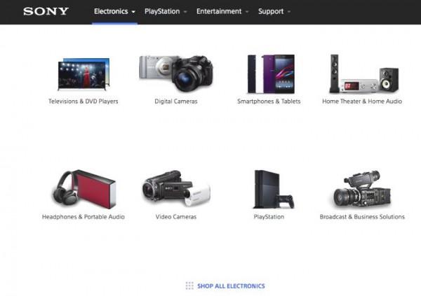 Sony Closing Down Its Online Retail Portal