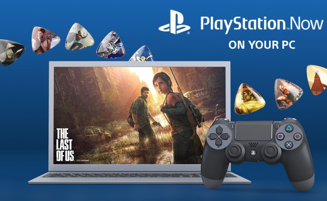 Official Playstation Now Coming To Pc