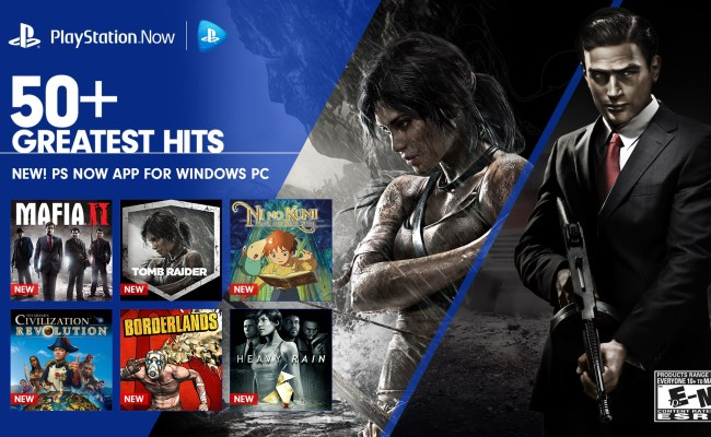 Playstation Now Launches On Pc Today