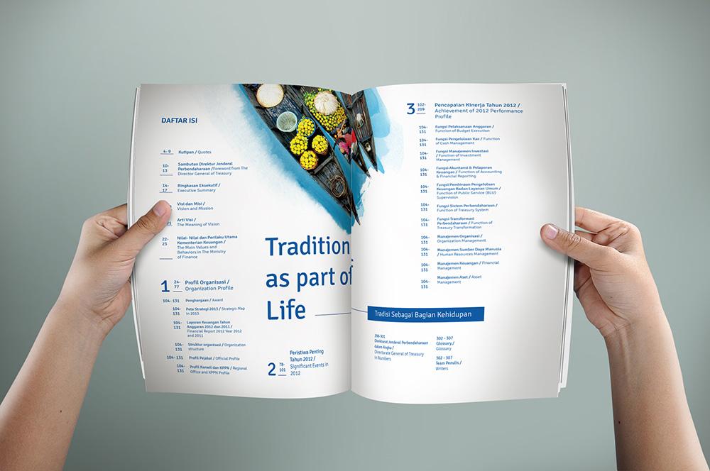 Annual Report Pemerintah Direktorat Jenderal