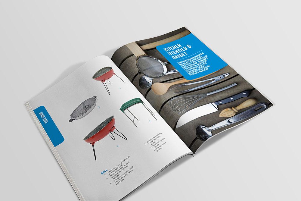 Pembuatan Desain Katalog Produk / Product Catalog