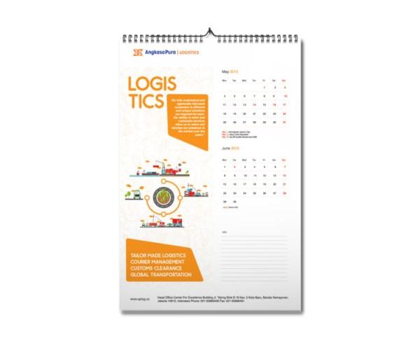 jasa desain kalender di jakarta Desain Kalender Dua Bulanan