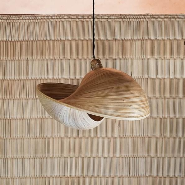 Udara Lamp 50 by Sooka x bambusa bamboo design lamps