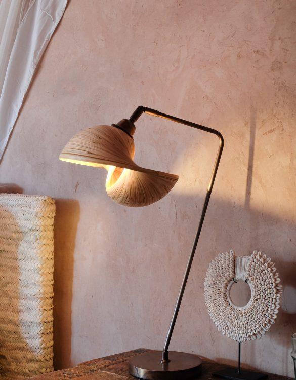 shell lamp sooka bambusa bamboo designer lamps