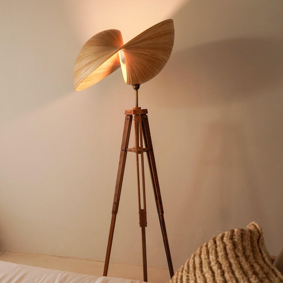 Kirana Tripod 50 - Bamboo Design Lampshades by Sooka Interior