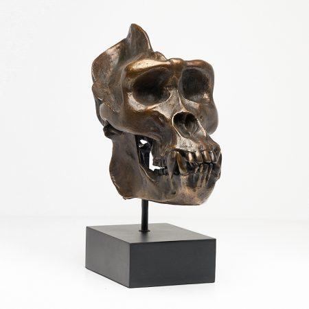 Western Lowland Gorilla in Bronze