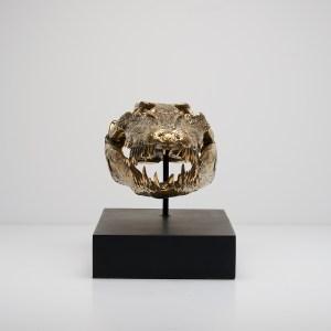 Saltwater Crocodile Bronze Sculpture Sooka Interior