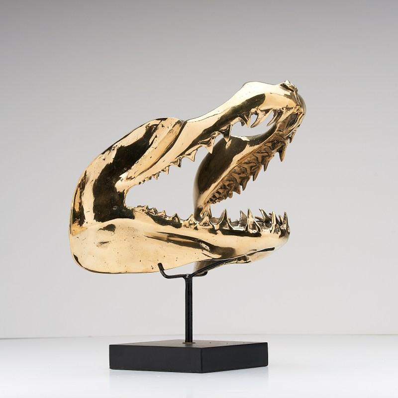 Bronze Mako Shark Jaw 2.0 Sculpture