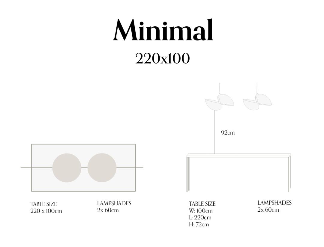 Minimal 220x100