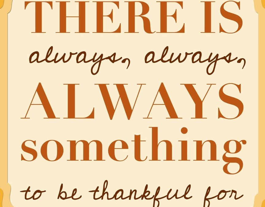 An Ode to Thanks-Giving