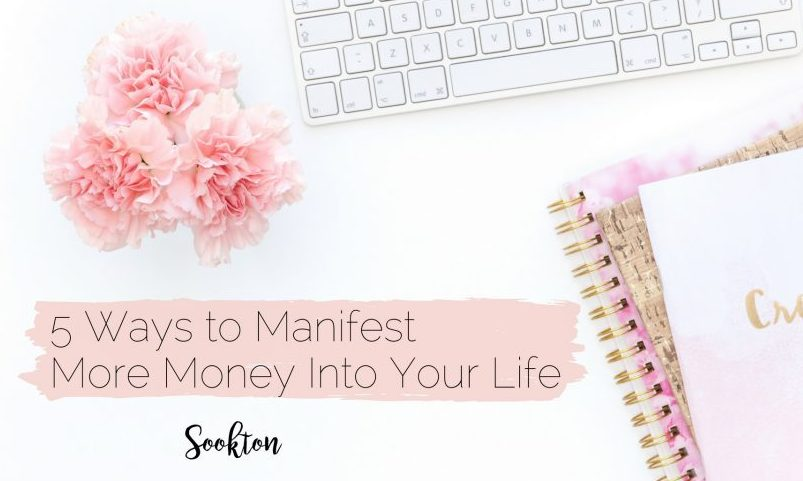 5 Ways to Manifest More Money Into Your Life