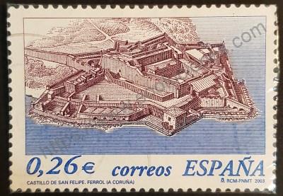 Castillo de San Felipe en Ferrol Sello 2003