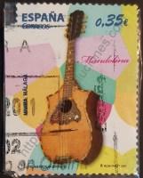 Estampilla España 2011 Mandolina