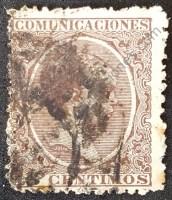 sello españa 1889 alfonso xiii 15 cents