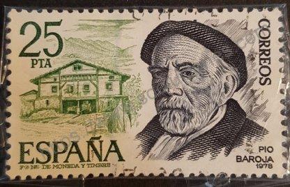 Sello de España 1978 – Pío Baroja