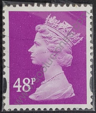 Sello Reino Unido 2007 Reina Elizabeth II 48p