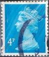 Reina Elizabeth II estampilla del Reino Unido 1993