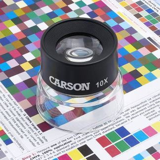 Lupa de contacto Carson 10x