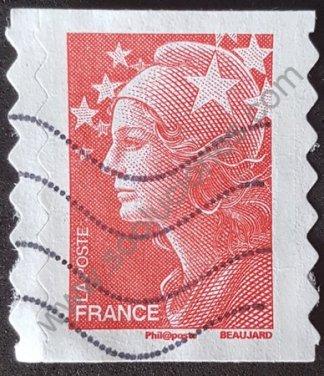 Sello Francia 2008 Marianne sin valor facial