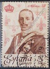 Alfonso XIII sello España 1978 serie Casa Borbón