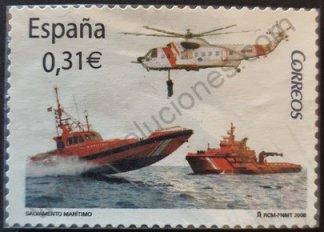 Sello España 2008 Salvamento marítimo