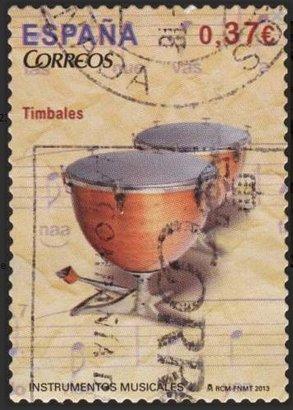 Sello España 2013 El Timbal