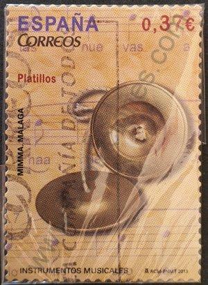 Sello España 2013 Platillos