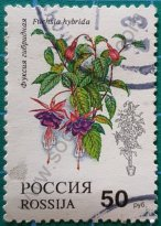 Sello Rusia 1993 Pendientes de la Reina 50 ₽