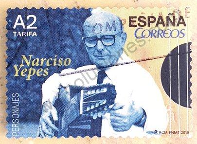 Sello España 2015 Narciso Yepes – A2