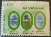 Sello No Contaminar - España 2012