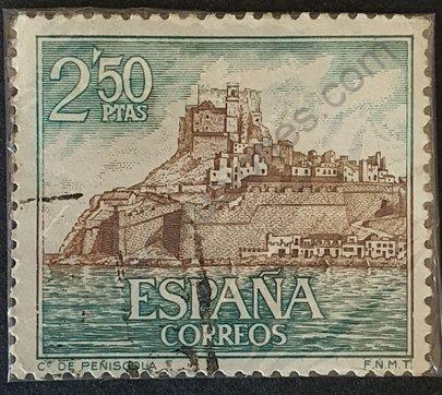 Sello Castillo de Peñiscola - España 1967