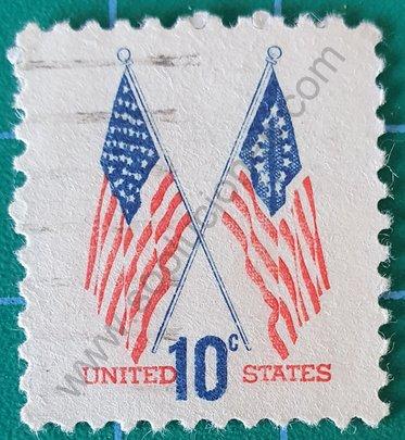Banderas Estados Unidos - Sello 1973
