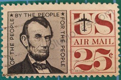 Sello Abraham Lincoln 1960 - Estados Unidos