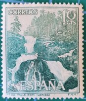Valle de Bohi en Lérida - Sello España 1966
