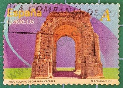 Arco romano de Caparra - Sello España 2013