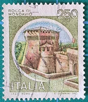 Rocca di Mondavio - Sello Italia 1980