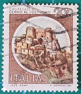 Castillo de Cerro al Volturno - Italia 1980