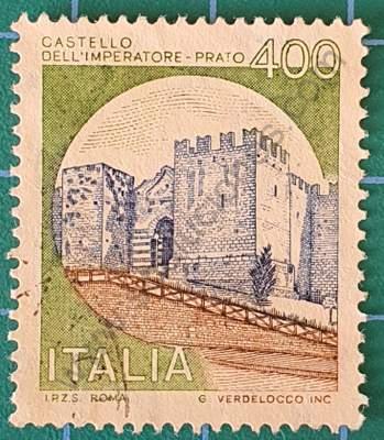 Castillo Dell' Imperatore - Prato - Sello Italia 1980